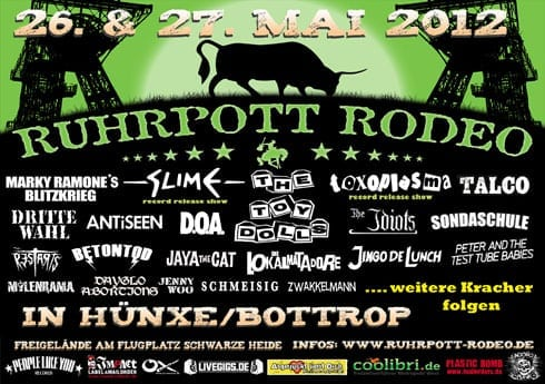 Flyer: Ruhrpott Rodeo 2012