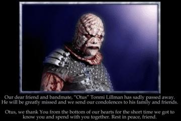 "Lordi: Drummer Tonmi Lillman ""Otus"" verstorben"