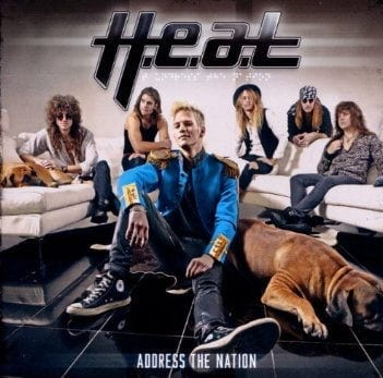 Cover: H.E.A.T - Address The Nation