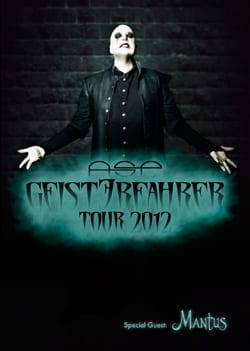 Official Flyer: ASP GeistErfahrer Tour 2012