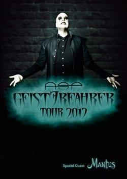 Official Flyer: ASP GeistErfahrer Tour 2012