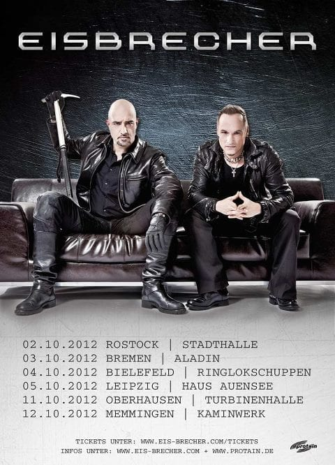 official Flyer: Eisbrecher - Höllentour 2012
