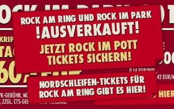 Screenshot: Rock im Park 2012 - ausverkauft!
