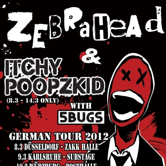 Zebrahead Tourposter