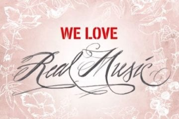 Cover: We Love Real Music
