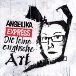 Andrea auf dem Cover des Angelika Express Albums: Die feine englische Art