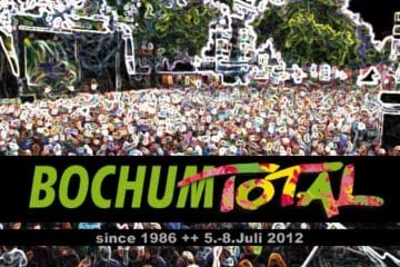 Erste Bands für Bochum Total 2012