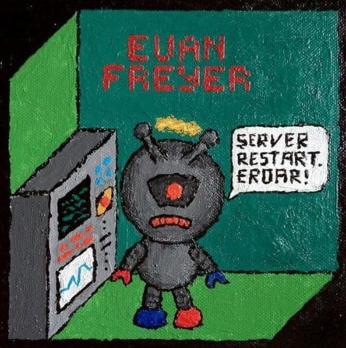 Cover: Evan Freyer - Server Restart Eroar (Single)