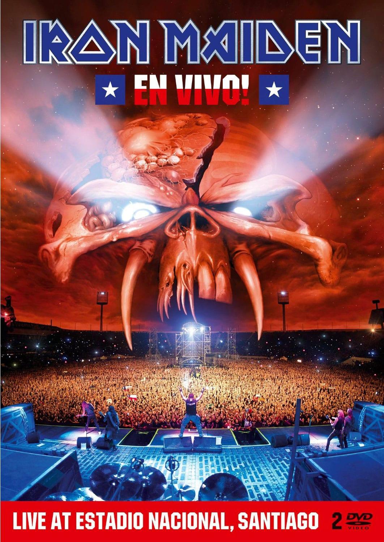 Cover: Iron Maiden - En Vivo! (DVD)