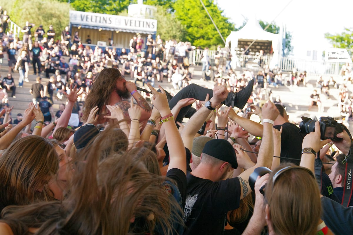 Kvelertak @Rock Hard Festival 2012