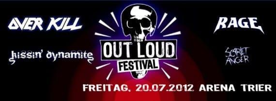 Out Loud Festival 20.07.2012 Arena Trier