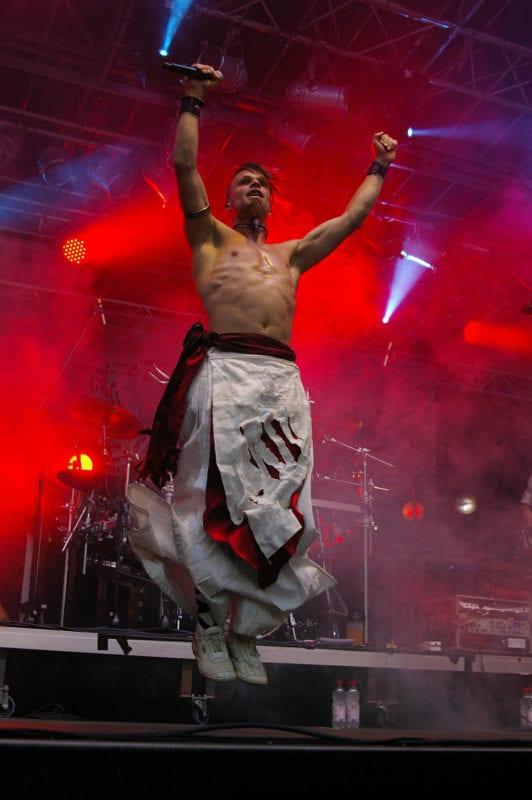 Saltatio Mortis @Burgfolk Festival 2012