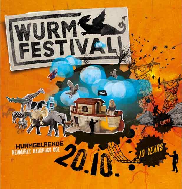 10 Jahre Wurmfestival - 20.10.2012