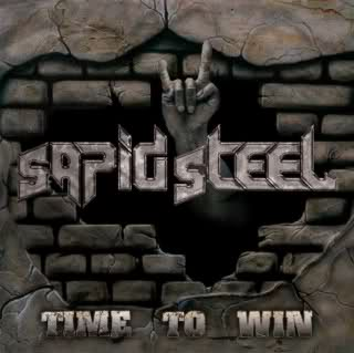 Cover: Sapid Steel - Time To Win
