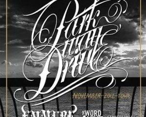 Parkway Drive Tour 2012