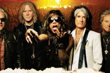 "Aerosmith - DVD/Blu-Ray ""Rock For The Rising Sun"" am 19. Juli"