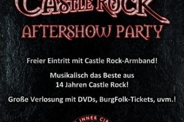 Castle Rock 2013: Aftershow Party im T.I.C.-Club