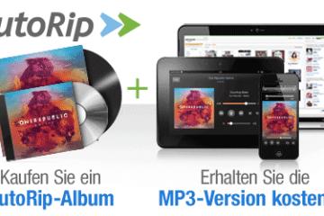 Amazon AutoRip auch in Deutschland
