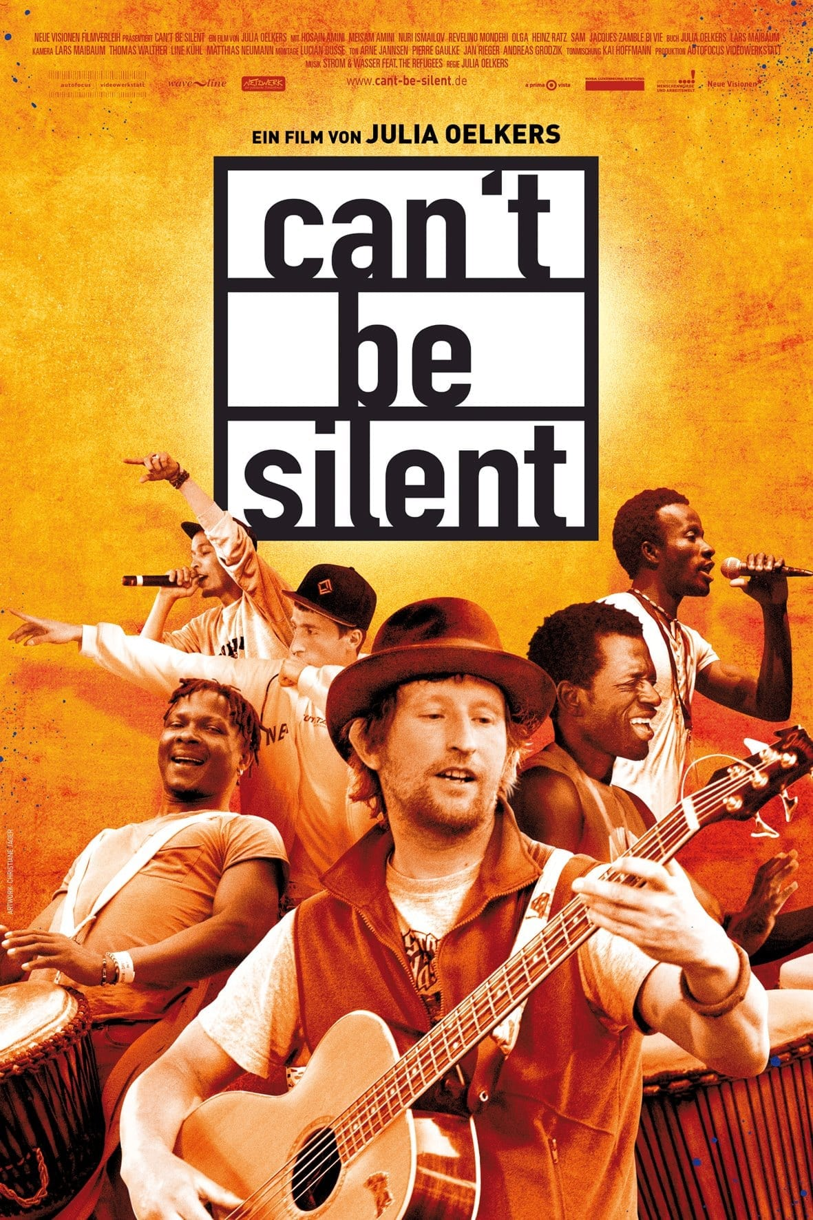 Filmplakat: Can't be silent