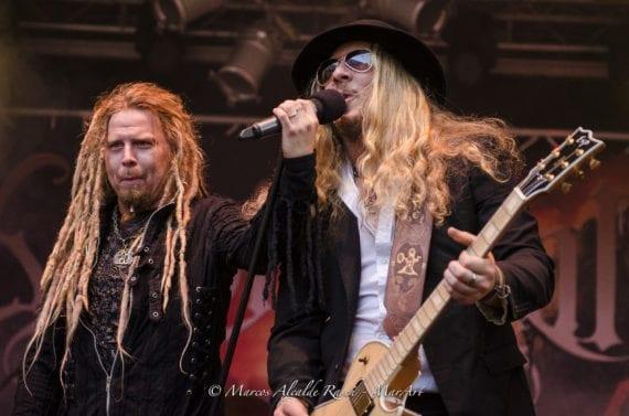 Korpiklaani @Castle Rock 2013 (Foto: Marcos Alcade Rasch)