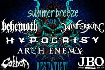 Summer Breeze 2014 Erste Bands