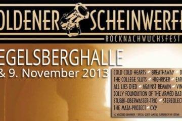 Goldener Scheinwerfer 2013 - Rocknachwuchsfestival