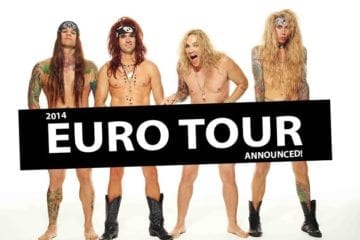 Steel Panther: Europa-Termine 2014