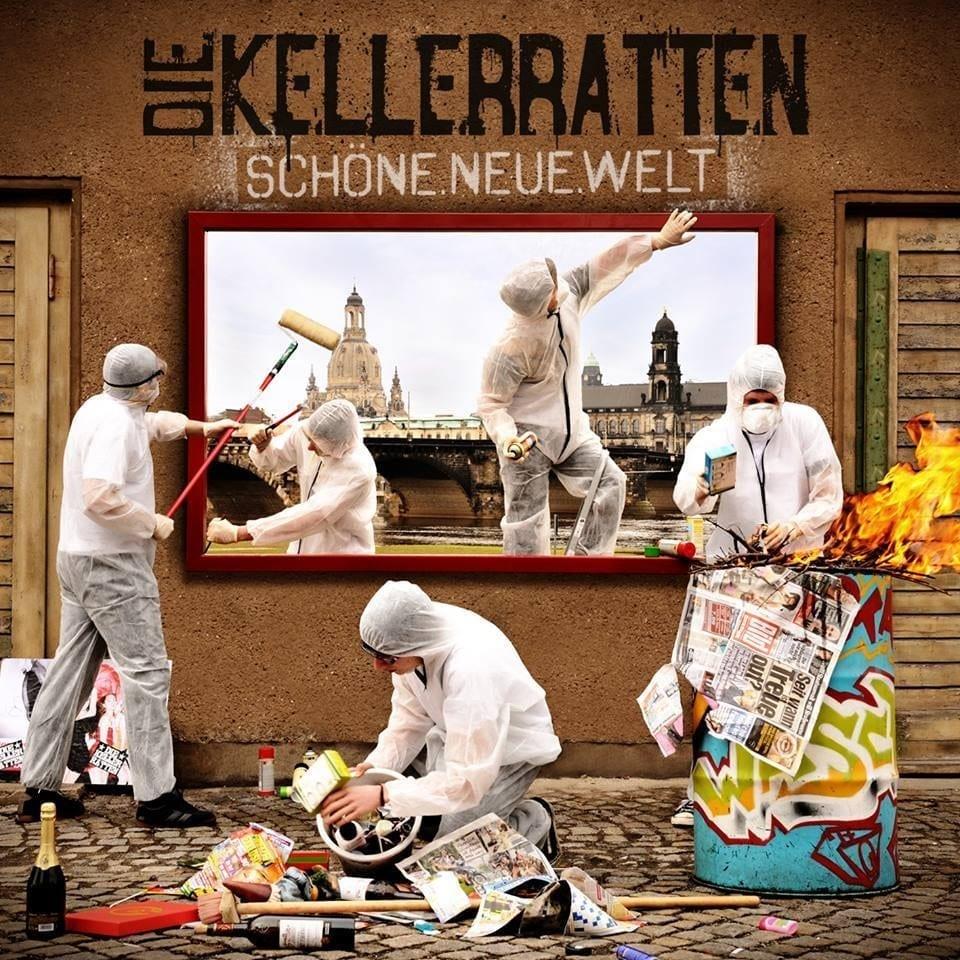 Cover: Die Kellerratten - Schöne.Neue.Welt