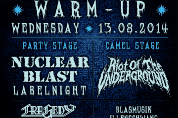 Summer Breeze Open Air 2014 - Programm Warm-up Wednesday