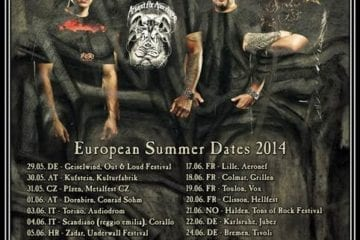 Flyer: Sepultura Tour 2014