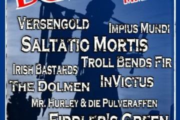 Flyer: Burgfolk Festival 2014 (Quelle/Autor: Michael Bones)