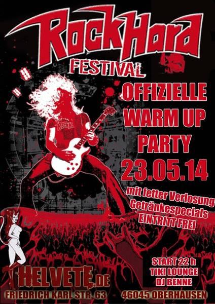 Flyer: RHF Warm-Up Party 2014