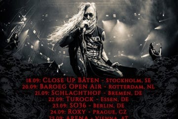 official Flyer: Bolt Thrower Tourdates 2014