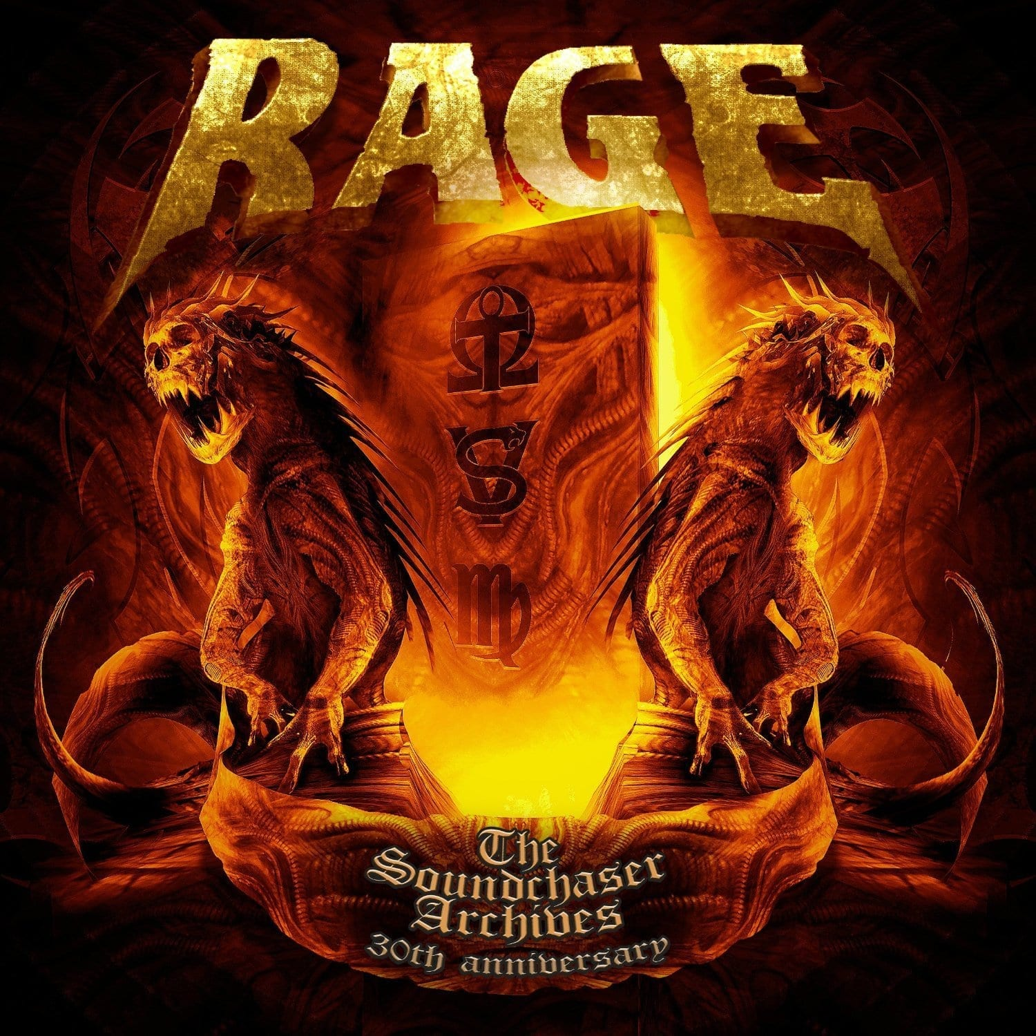 Cover: Rage - The Soundchaser Archives