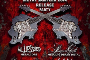 Saarland Underground Metal Sampler 2014: Release Party am 14.06.