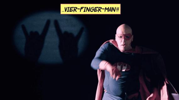 Vier-Finger-Man