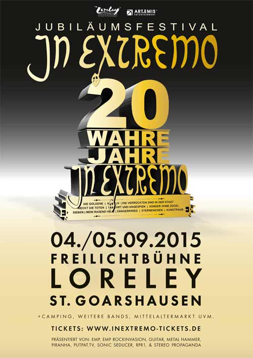 Flyer: In Extremo - 20 Wahre Jahre