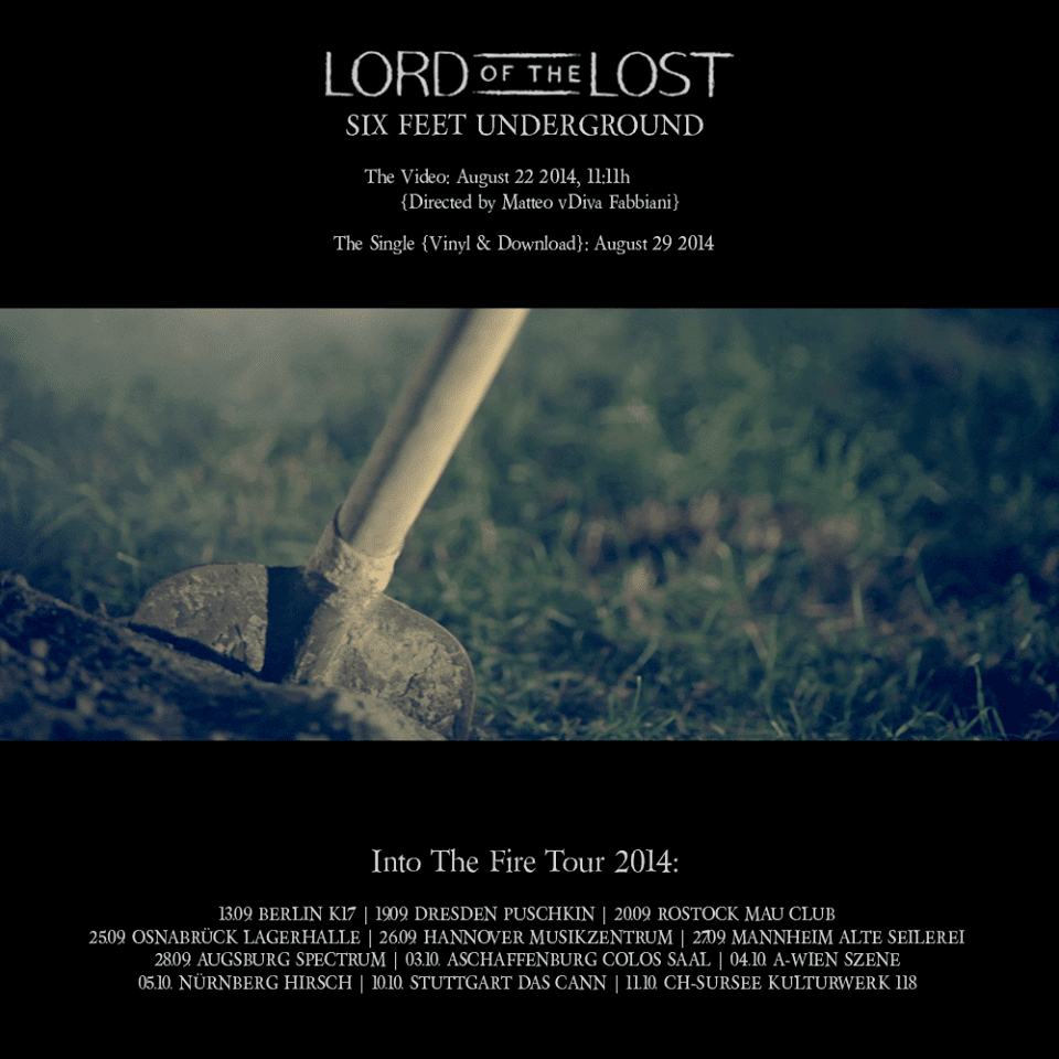 lord of the lost - video-tour flyer