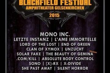 Flyer: Blackfield Festival 2015