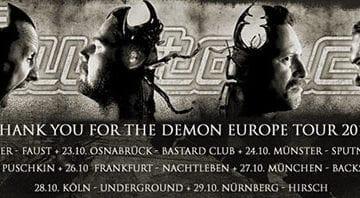 Mustasch: ab morgen in Deutschland auf Tour