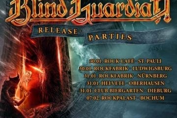 Flyer: Blind Guardian Release Parties