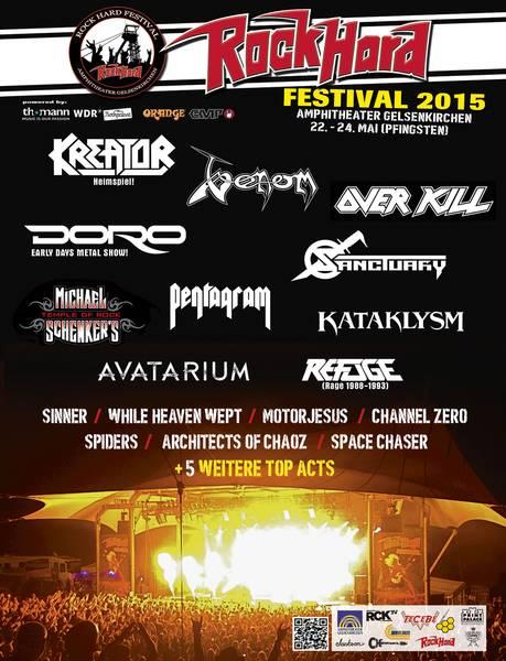Flyer: Rock Hard Festival 2015