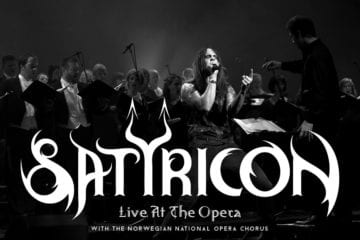 Cover: Satyricon - Live at the Opera