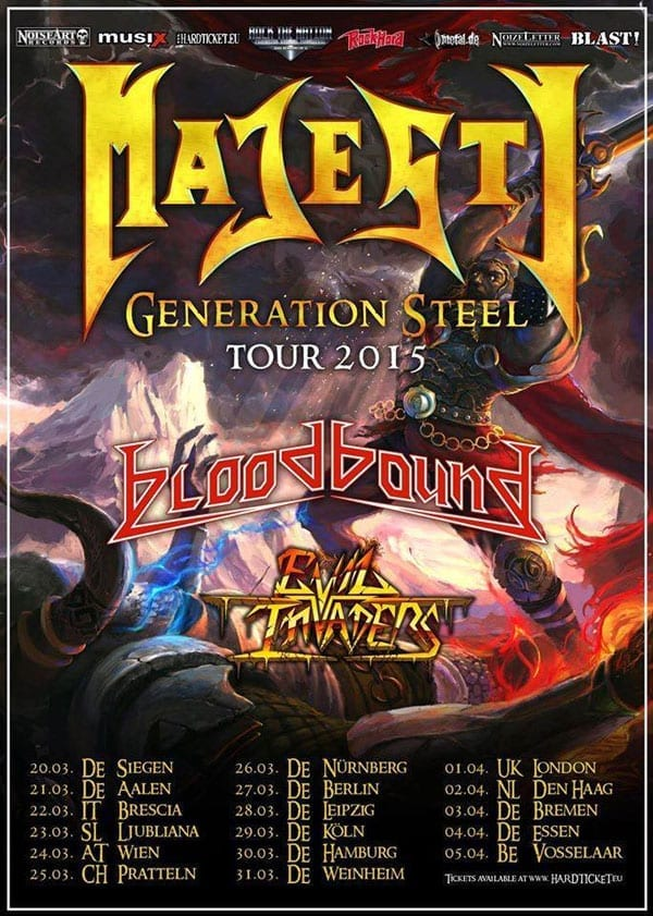 Flyer: Majesty Tour 2015