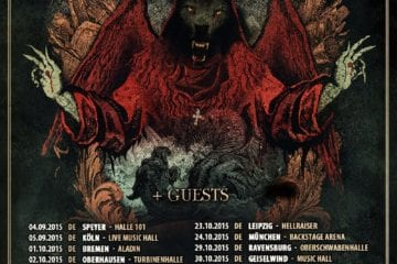 Flyer: Powerwolf - Wolfsnächte 2015