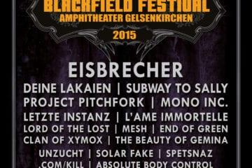 Blackfield Festival 2015: die letzten Bands sind bestätigt