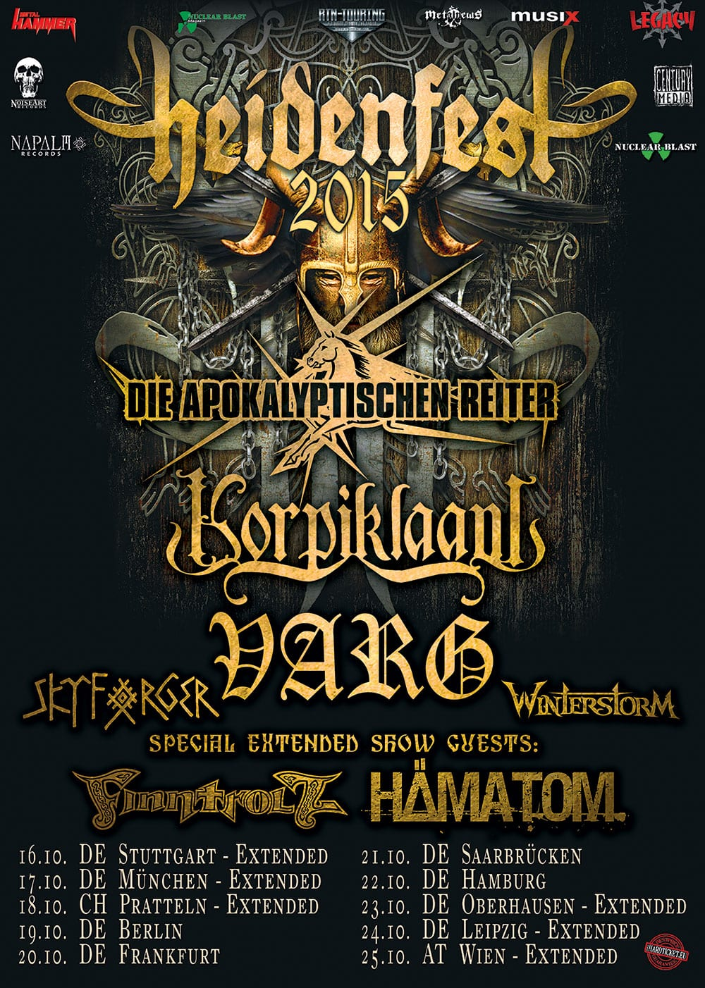 Poster: Heidenfest 2015
