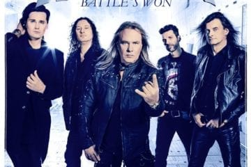 Cover: helloween- battle´s won