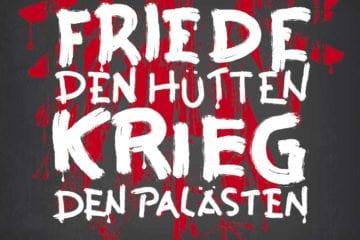 Cover: Normahl - Friede den Hütten, Krieg den Palästen