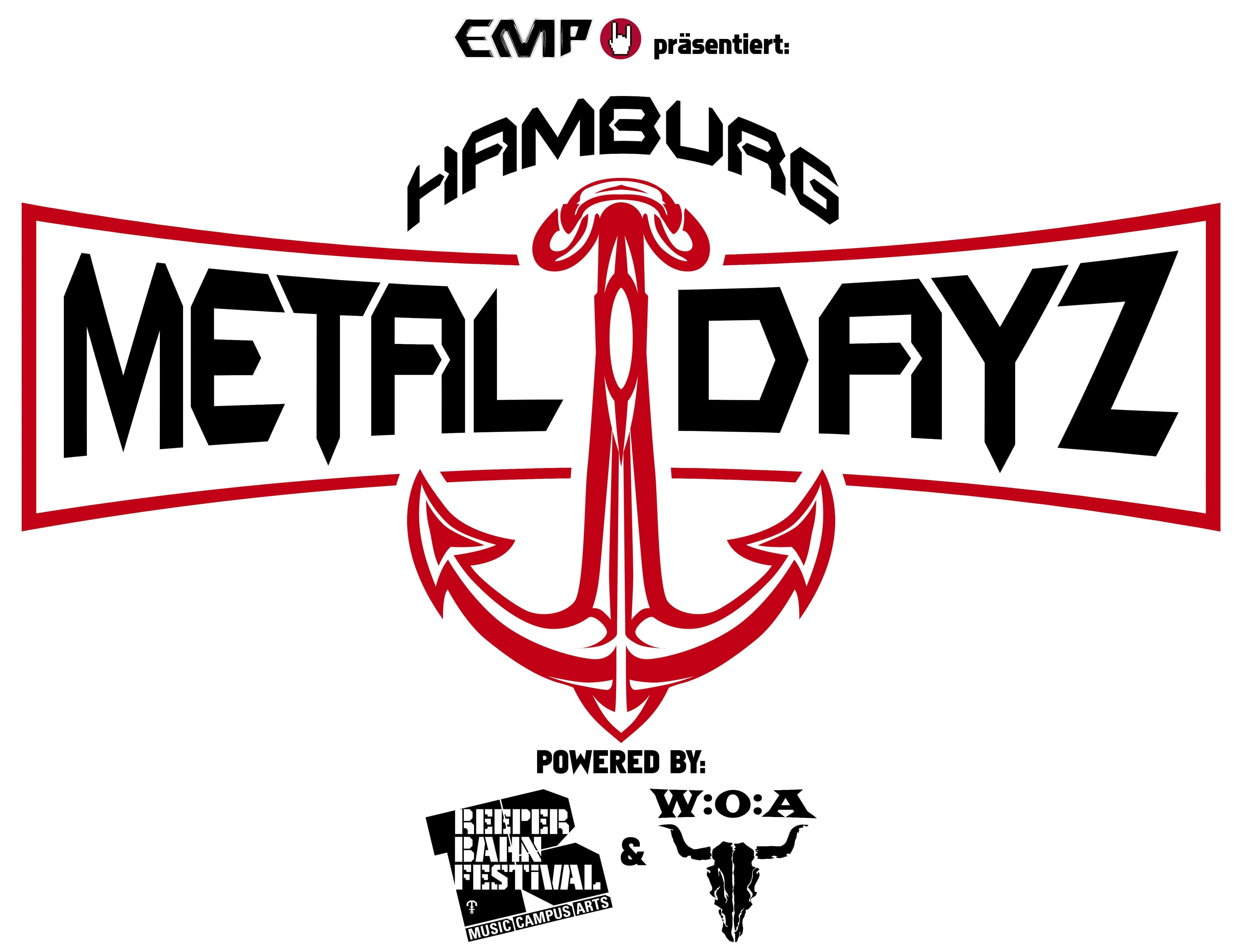 Official Logo: Hamburg Metal Dayz